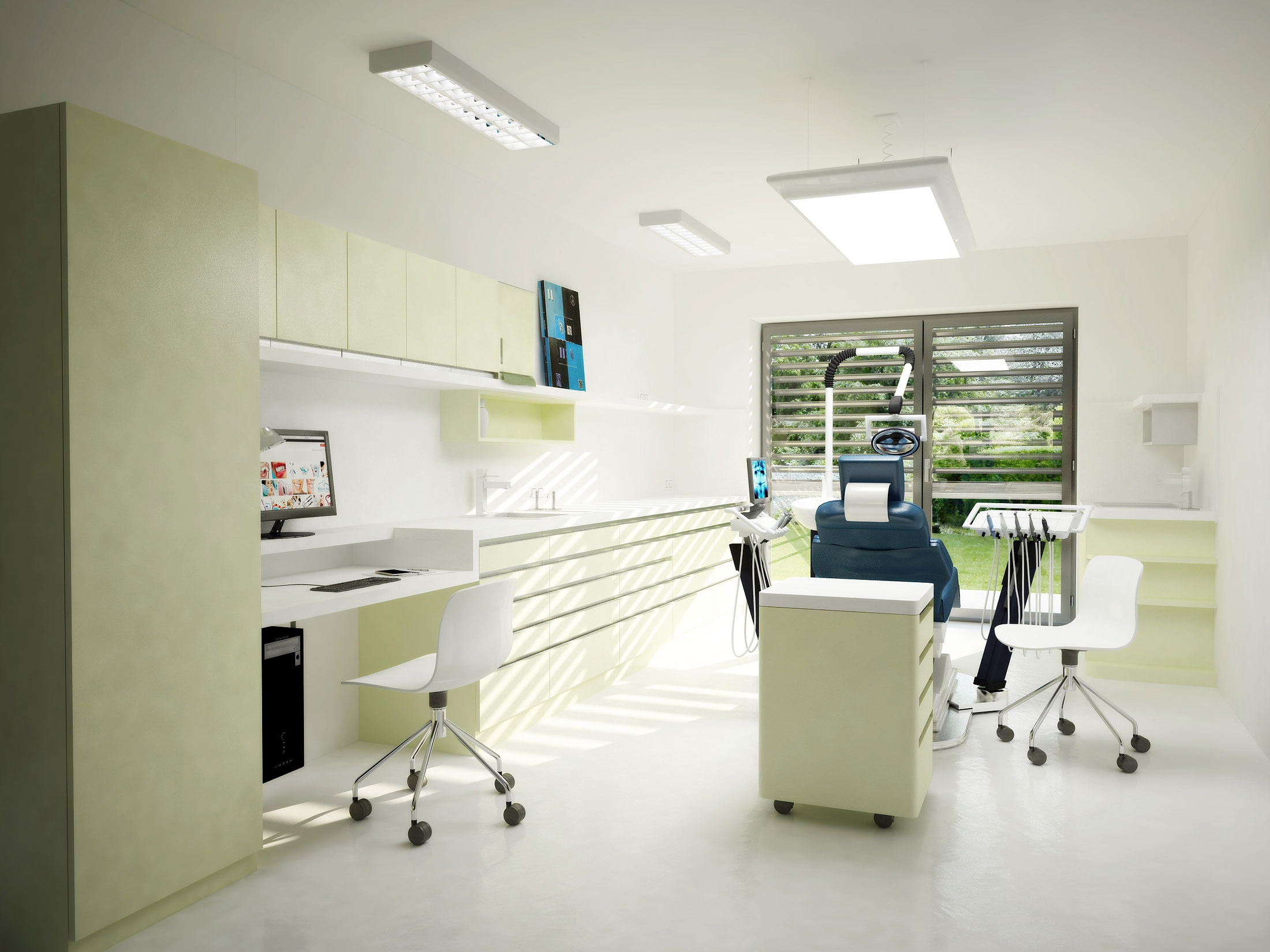 dental office interior. Dental Office Interior